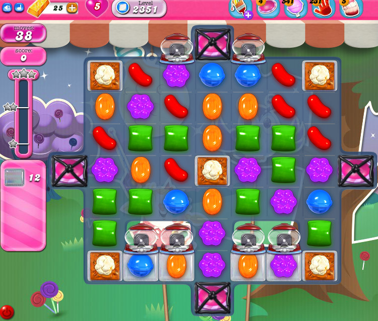 Candy Crush Saga level 2351