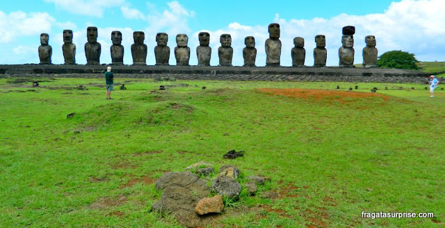 Ilha de Páscoa, Ahu Tongariki
