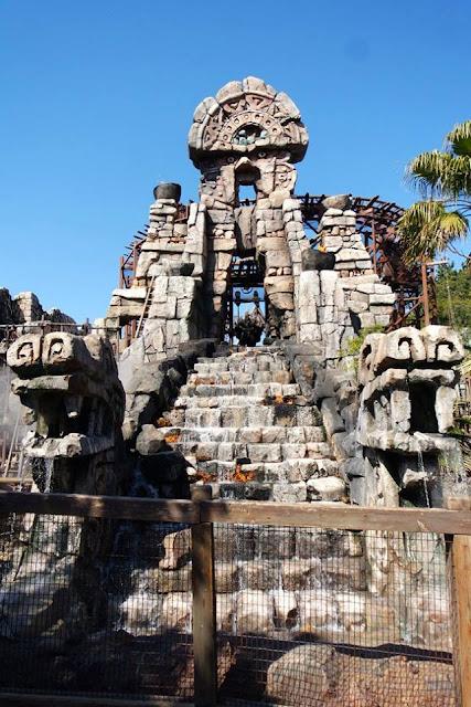 Indiana Jones Temple of the Crystal Skull Tokyo Disneysea Ride