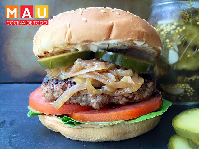 las mejores hamburguesas de brisket
