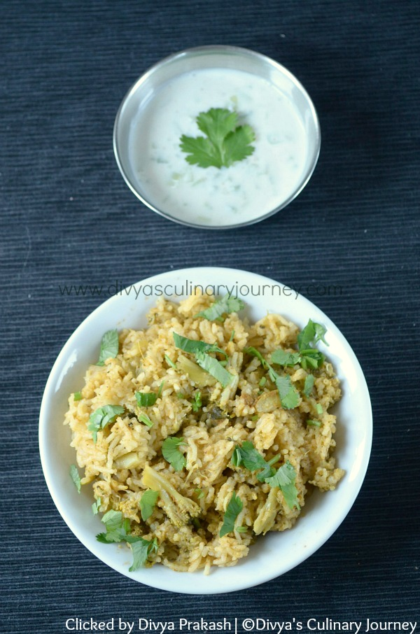 Broccoli Biryani, Easy Biryani Recipes, Indian Broccoli Recipes