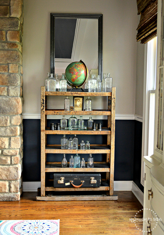 Last Summer, I Found This Vintage Wood Shelf At A Flea Market In Chicago. I  Fell In Love The Moment I Laid Eyes On It And Had To Bring It Home With ... Part 76