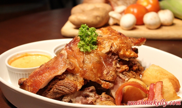Roast Pork Knuckle, White Horse Tavern Ampang, White Horse Tavern, Bar & Restaurant, Amp Walk Mall