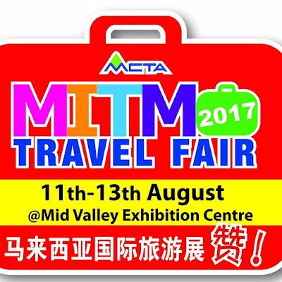 MITM Travel Fair 2017 Mid Valley Exhibition Centre