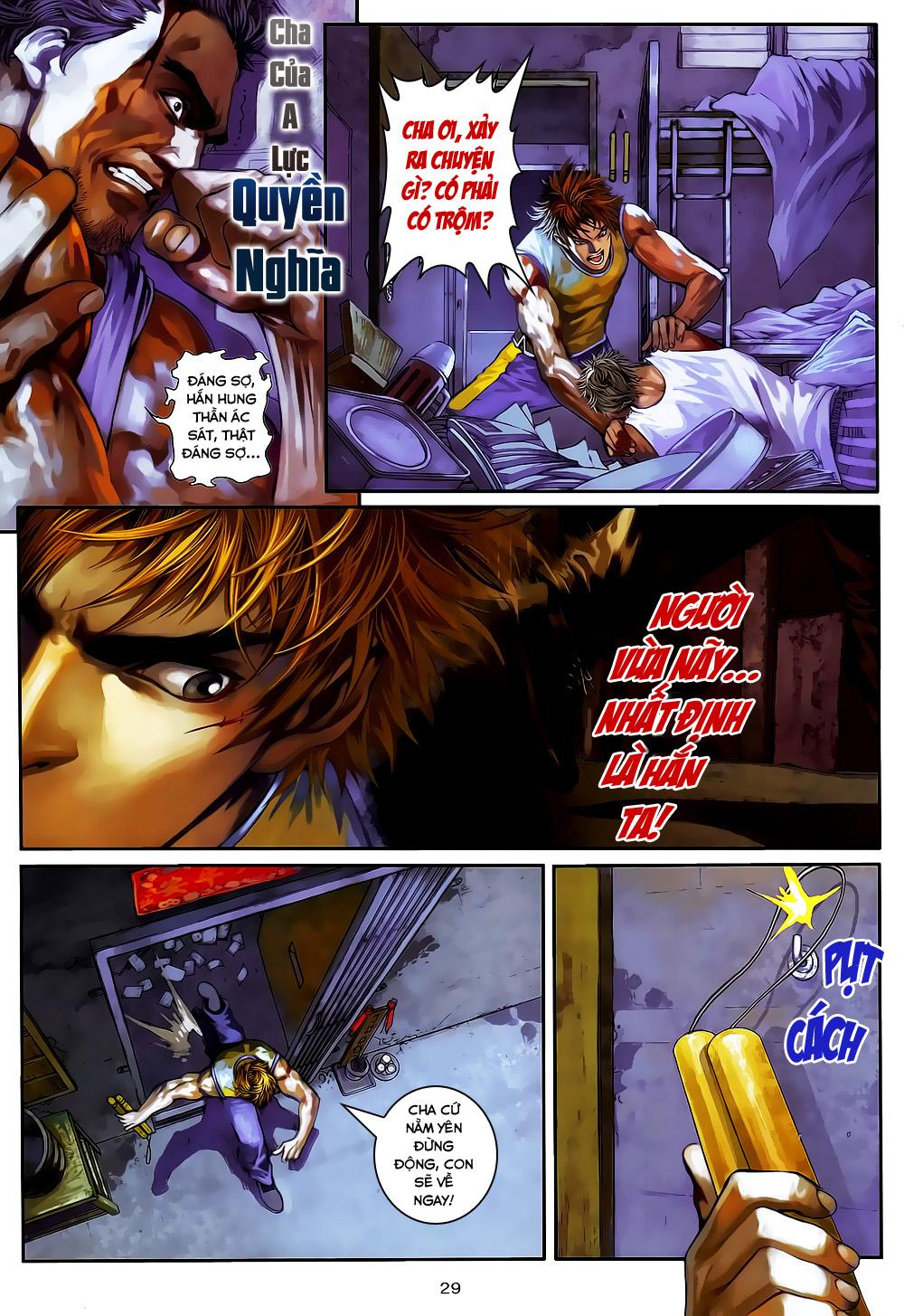 Quyền Đạo chapter 4 trang 29
