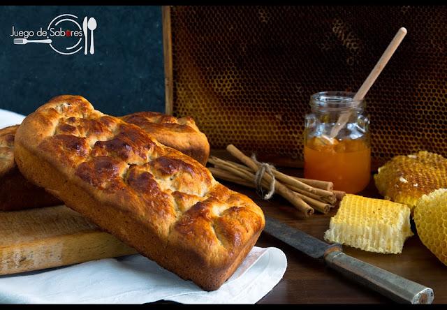 Pan de canela y miel