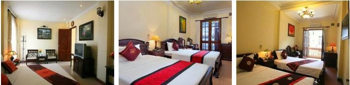 Lucky Hotel Hang Hom Street