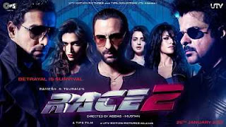 Race 2 (2013) Full Movie Download Hindi - Tamil 400mb BDRip 480p