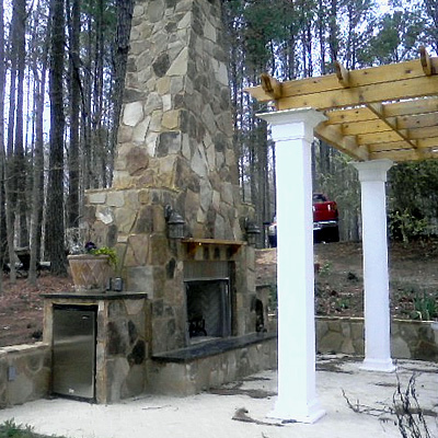 Outdoor Fireplace Design: Build Your Own Outdoor Fireplace ... on Building Your Own Outdoor Fireplace id=64566