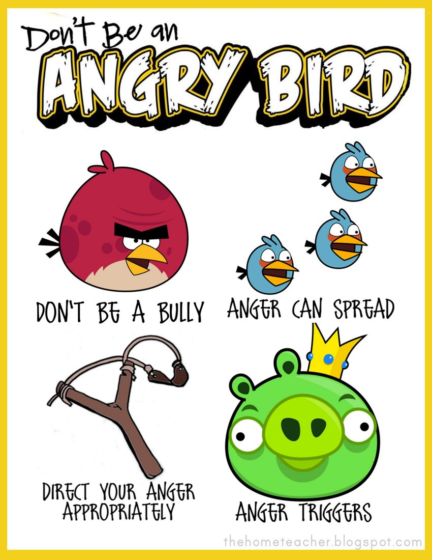 photo relating to Angry Birds Printable titled practices Archives - The House Instructor