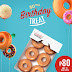 Krispy Kreme's 80th Birthday Offer