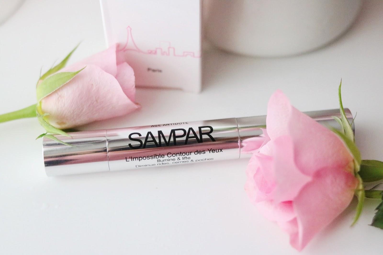 rosemademoiselle , rose mademoiselle , SAMPAR PARIS, LA CREME DE SOURCE DE JOUR , IMPOSSIBLE CONTOURS DES YEUX, revue , avis, paris , blog beauté