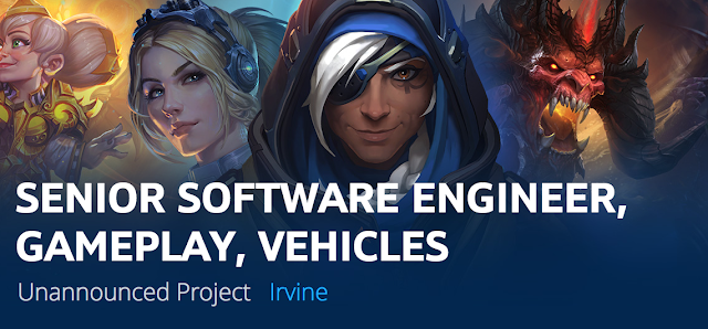 Blizzard podría estar trabajando en un videojuego de conducción