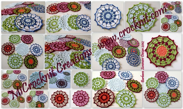 crochet patterns, how to crochet, coasters, home decore