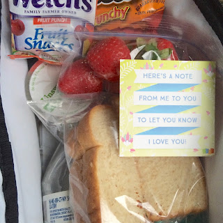 Back to School Printable Lunch Notes