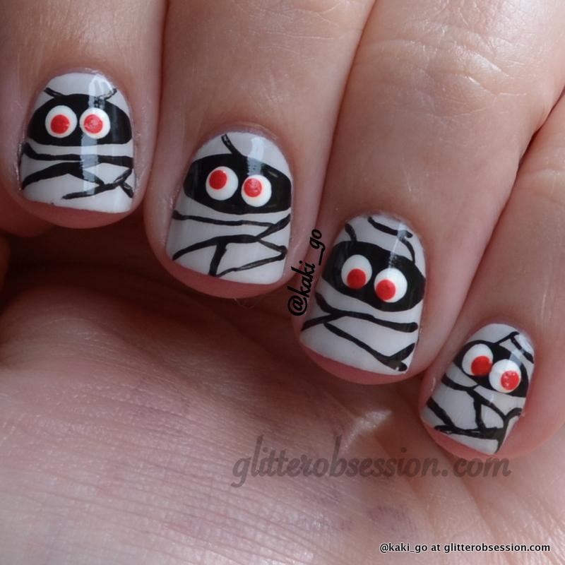 Halloween Nail Art Designs For Short Nails