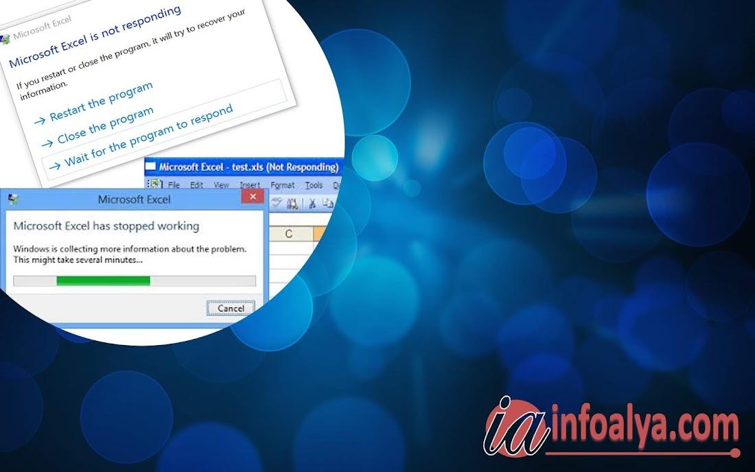 Penyebab dan cara mencegah Excel Not Responding