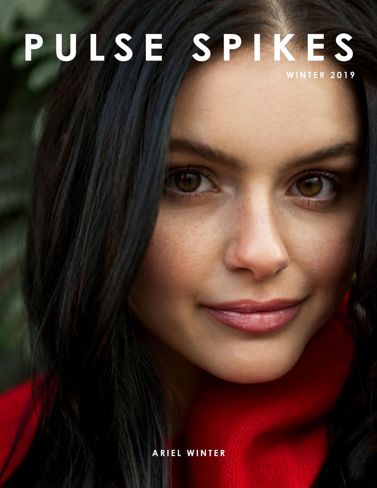 Ariel Winter - Allegra Messina Photoshoot For Pulse Spikes Magazine's Winter 2019 Issue