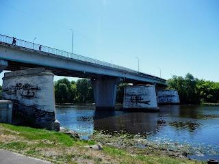 Пина. Пинск. Автодорожный мост