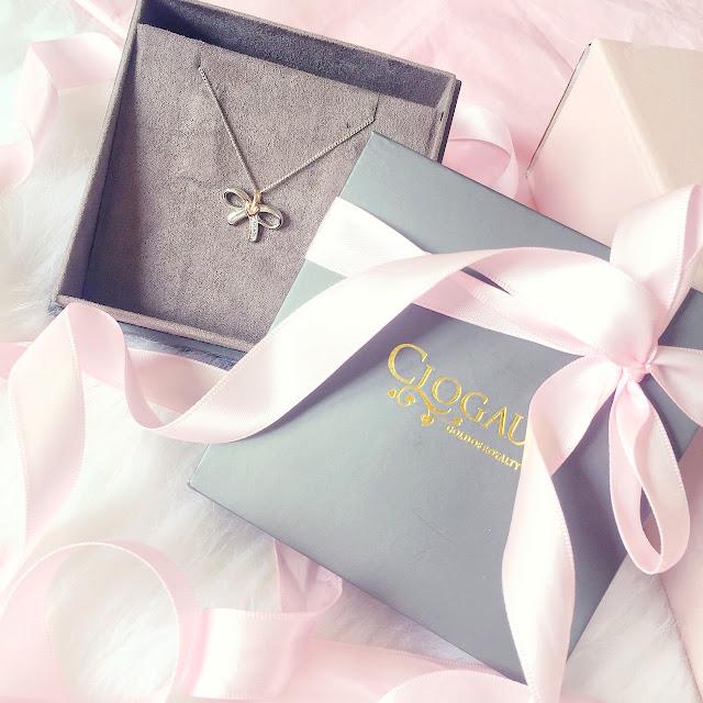 Clogau Mococo Jewellery | Diamond Tree Of Life Bow Necklace