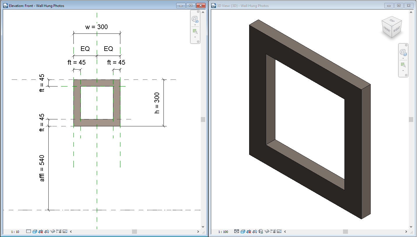 Revit Recess: Split Canvas Prints in Revit