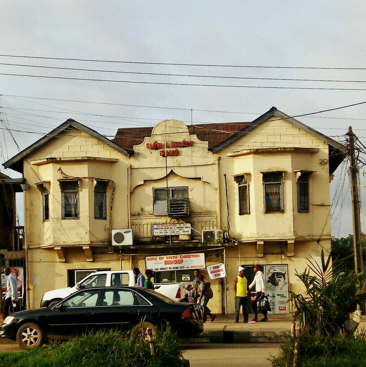 Road benin state ring city nigeria edo Benin City