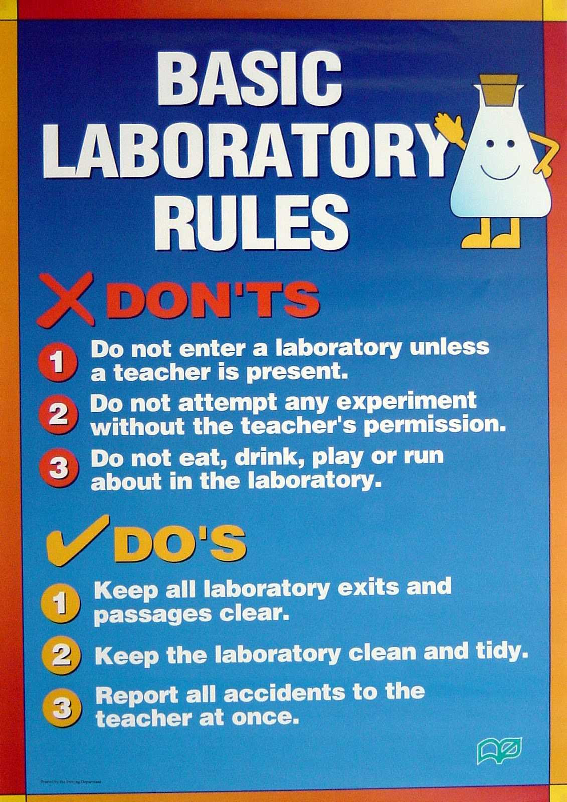 Rules For A Girls Bedroom: DLP Y4: Science Room Rules