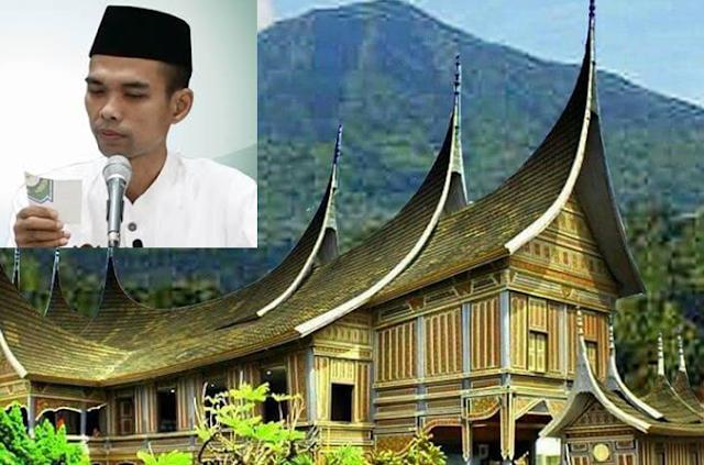 abdul somad sistem harta warisan minangkabau