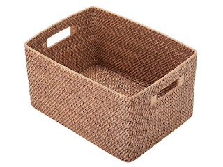 Rattan Basket with Handles