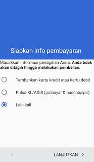 Langkah atau cara membuat akun Gmail di hp