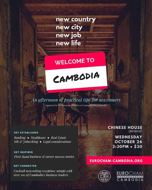 Eurocham - Networking : Séminaire pour réussir son arrivée au Cambodge