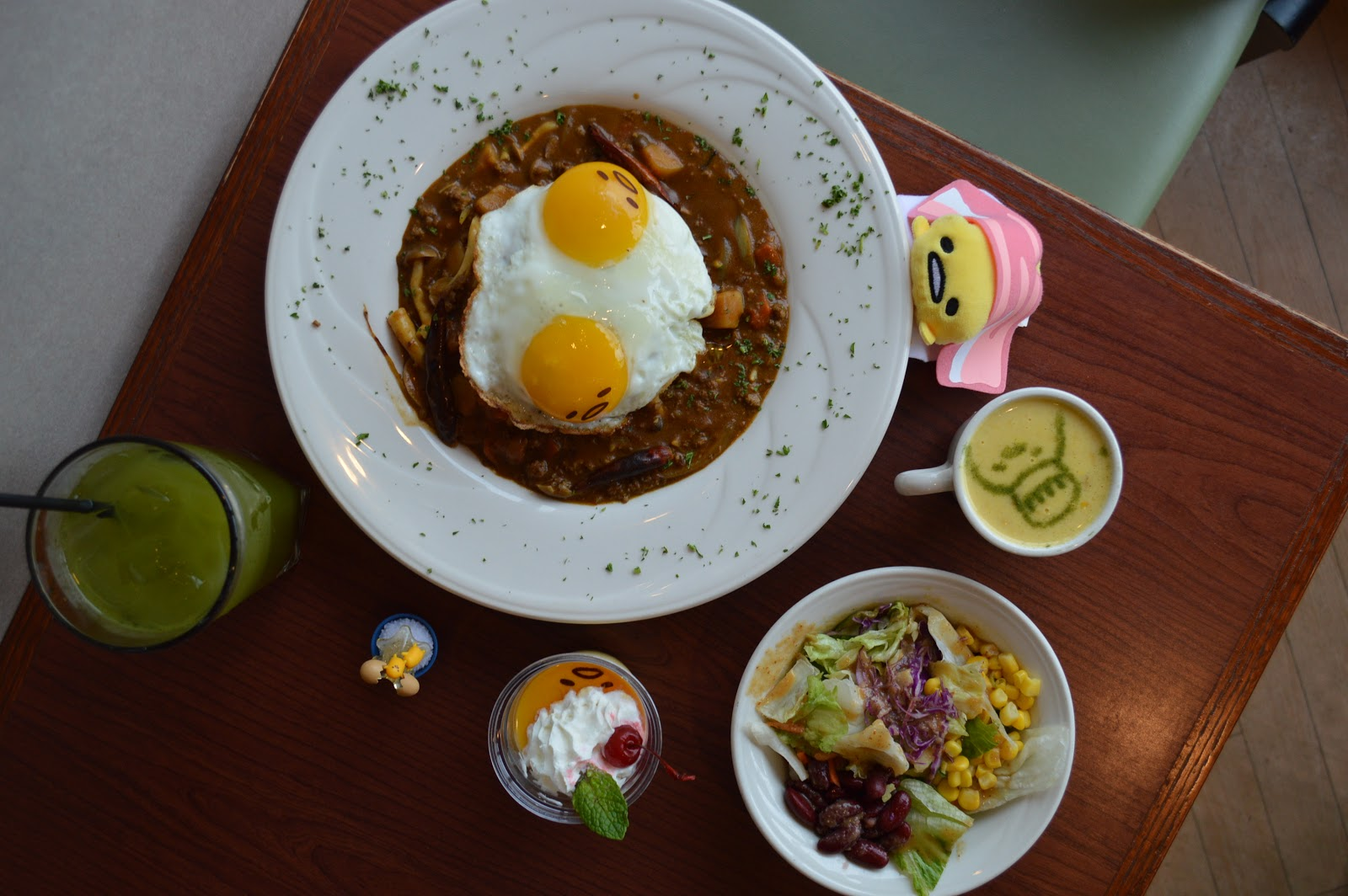 Doubly Egg-Cited For The Gudetama x Curry House Collab Extending Through February!