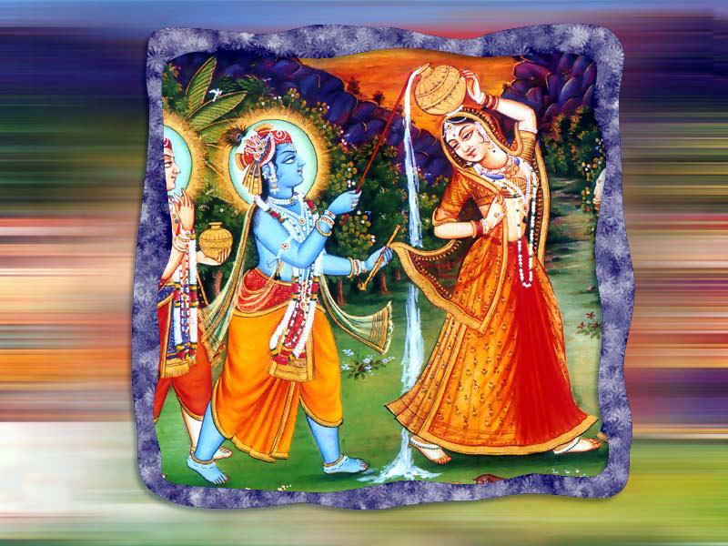 Cute Lord Krishna Hd Wallpaper Nice Pictures Of Lord Krishna Raas Leela With Radha