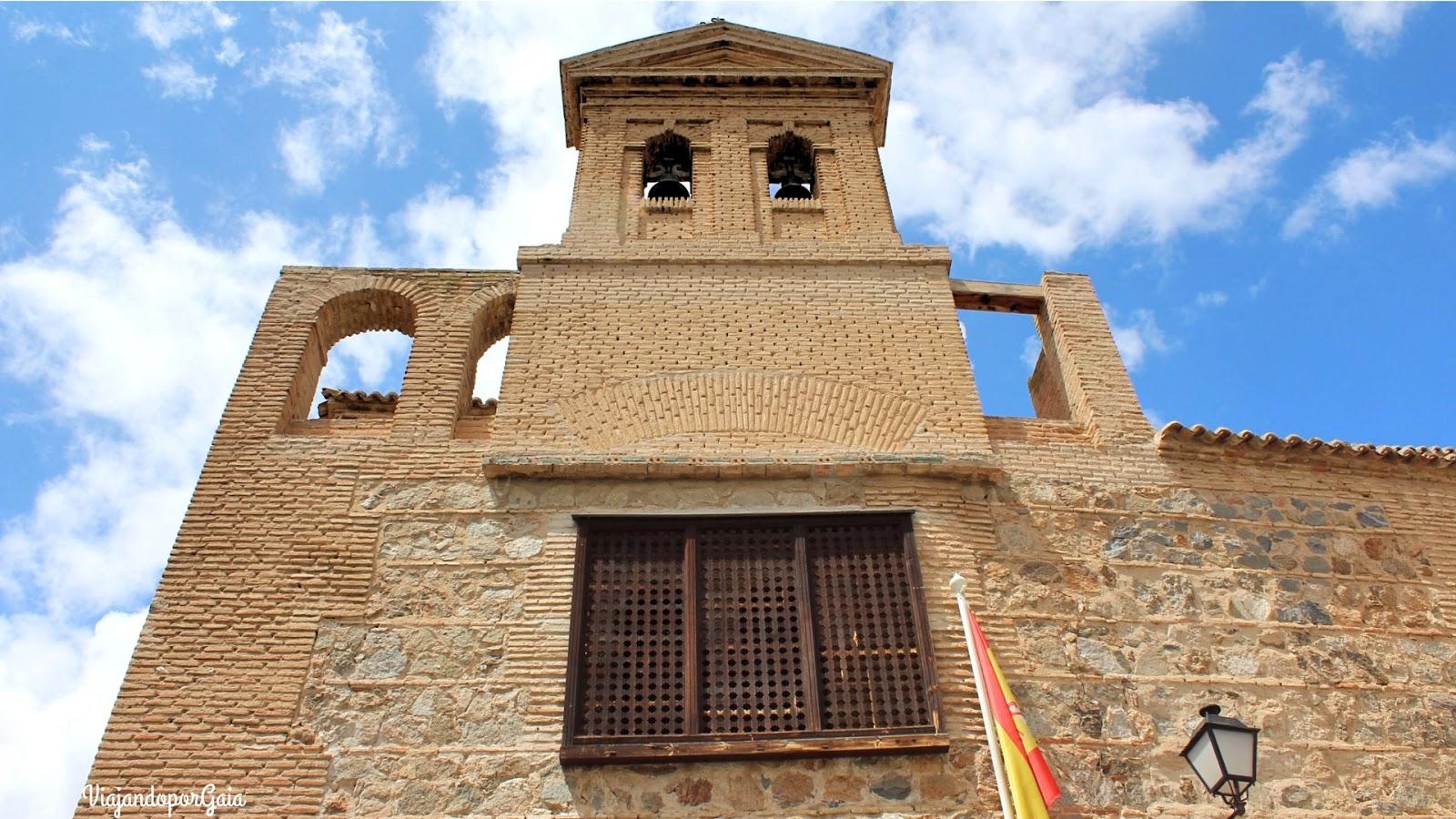 Frontis de la Sinagoga El Tránsito