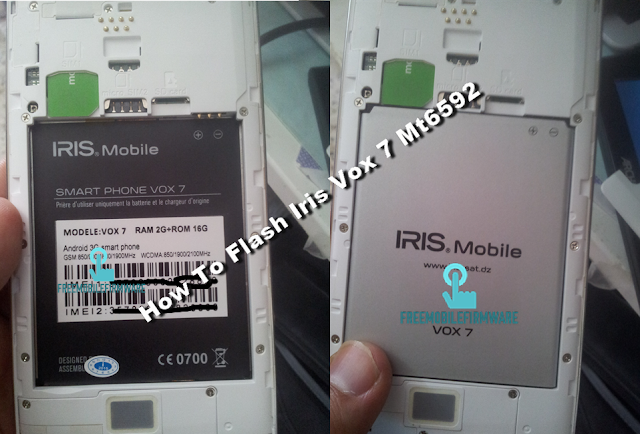 How To Flash Iris Vox 7 Mt6592 KitKat 4.4.2 Tested Firmware