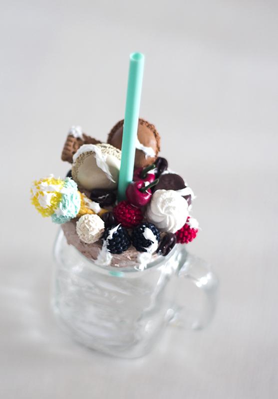 słodycze modelina sweets polymer clay