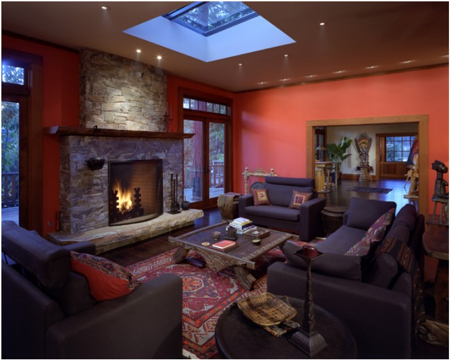 Southwestern Living Room Design Ideas