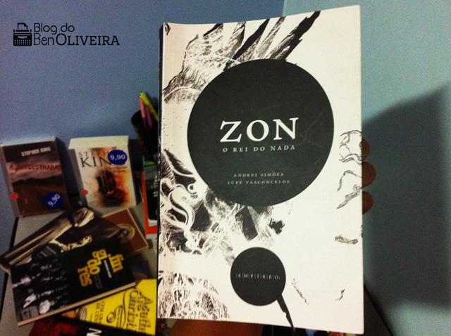 Livro Zon o Rei do Nada Editora Empíreo