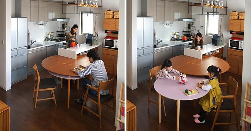 Mesa de Jantar 2 em 1