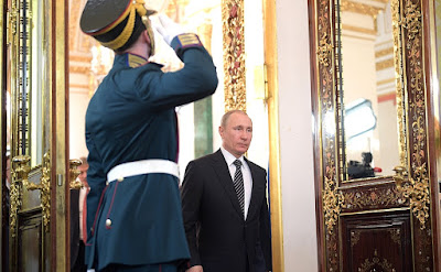 Russian President Vladmir Putin.