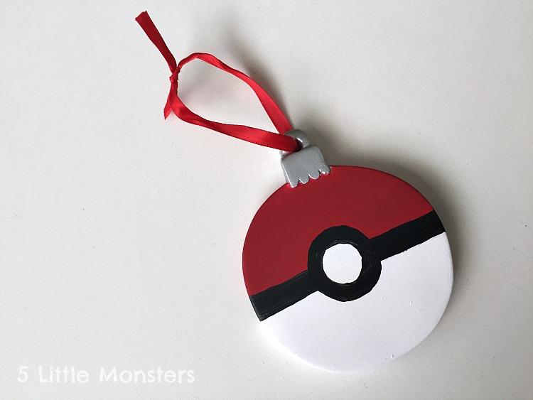 Pokemon Christmas Ornaments.5 Little Monsters Diy Pokemon Christmas Ornament