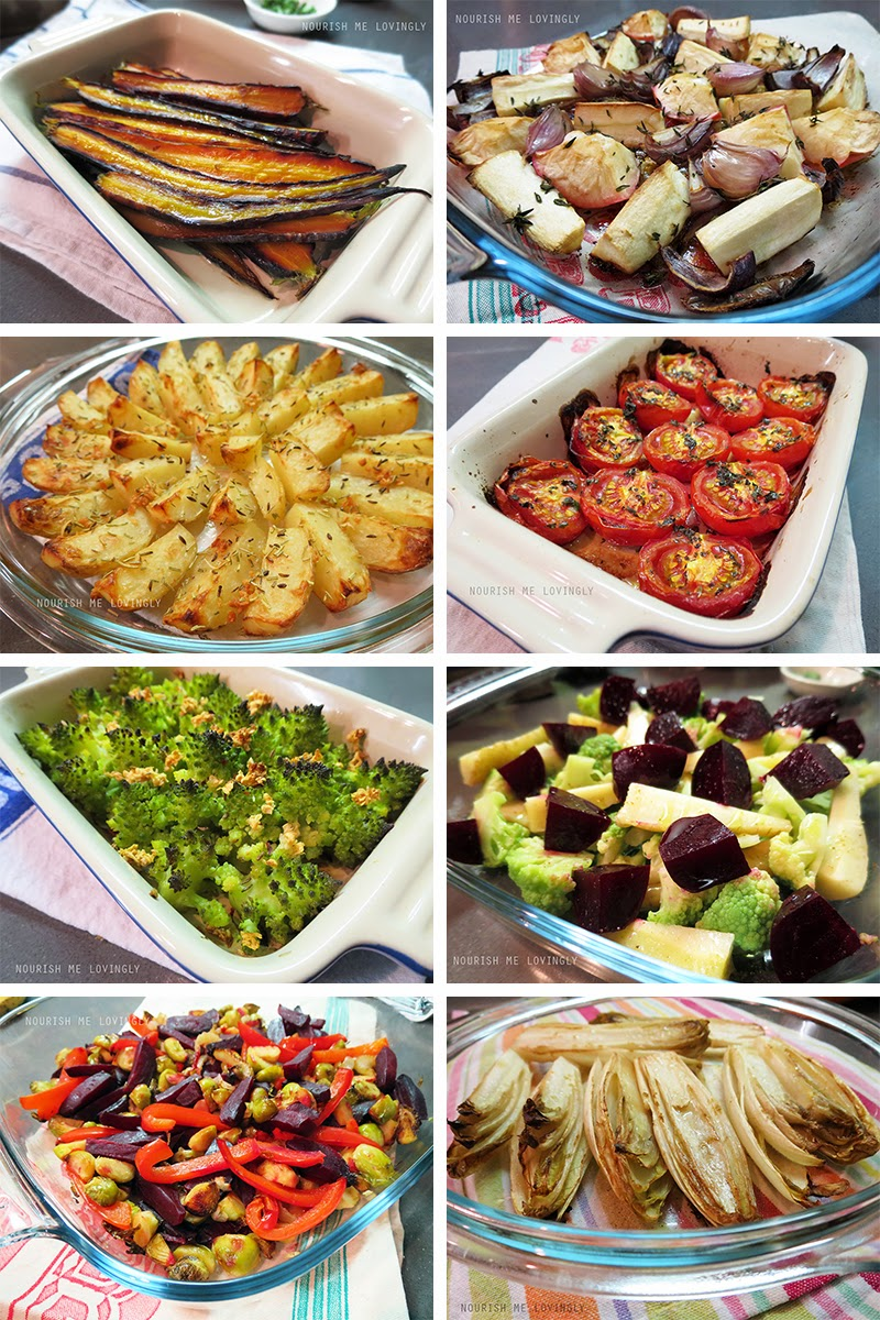 Oven roasted side dishes