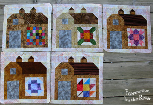 Batik Barns for Freemotion by the River