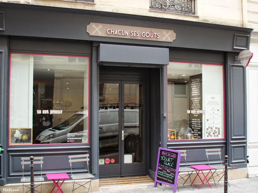 Chacun ses goûts boutique Paris