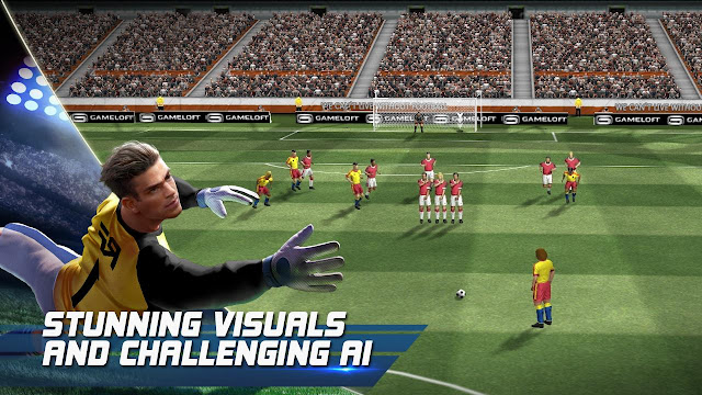 Download Real Football 2017 v1.4.0 Apk Mod Unlimited Money