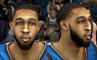 NBA 2K13 Derrick Williams Cyberface Patch