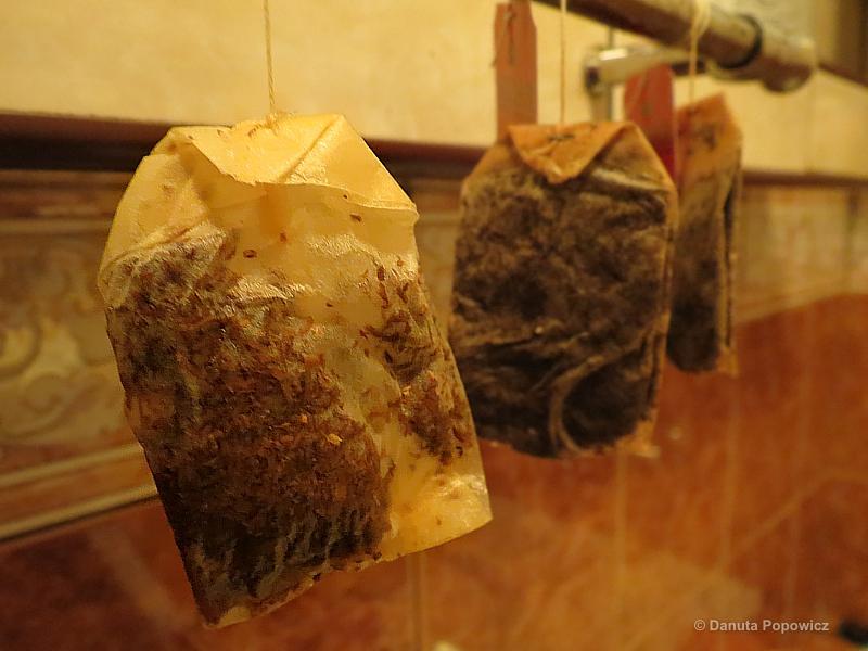recykling herbacianych saszetek
