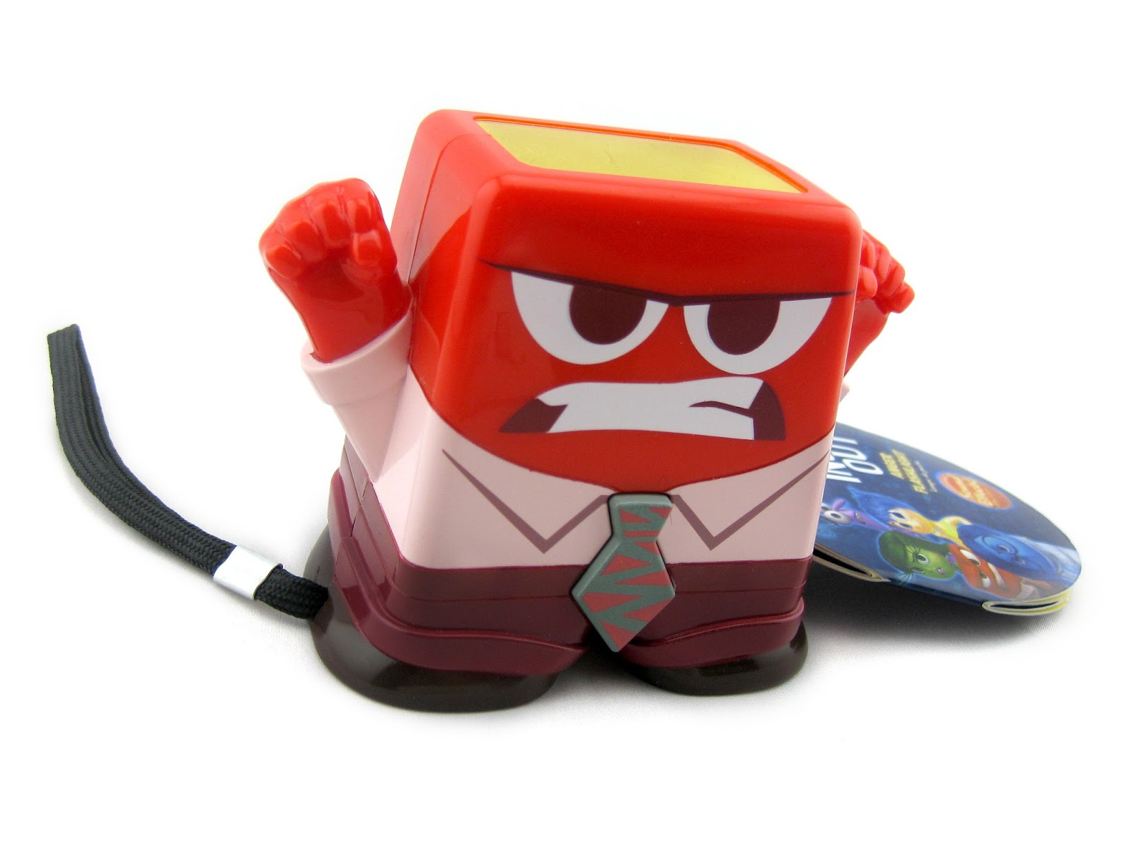 Dan The Pixar Fan Inside Out Anger Talking Flashlight