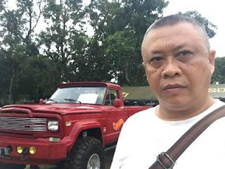 Budi Wijaya di Jambore American Jeep 2018 Cibubur