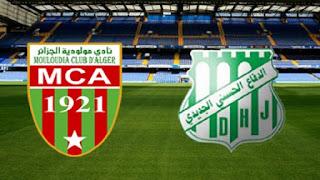 مشاهدة مباراة مولودية الجزائر والرفاع بث مباشر بتاريخ 28-09-2018 البطولة العربية للأندية